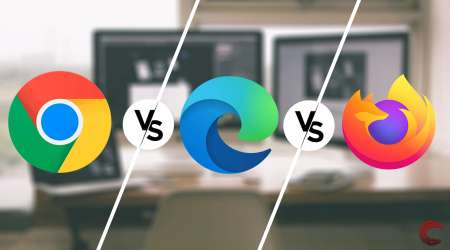 مقایسه کروم، فایرفاکس و اج